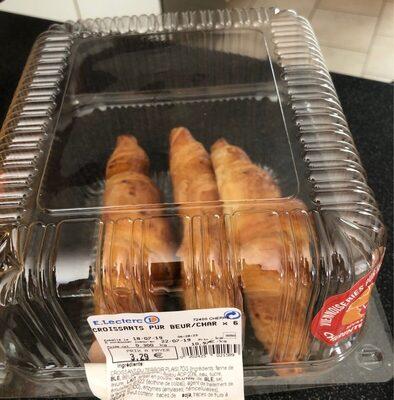 Croissants pur beur/char x6 - Produit - fr