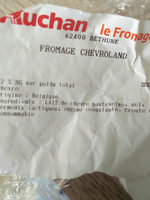 fromage chevroland - Ingredients - fr