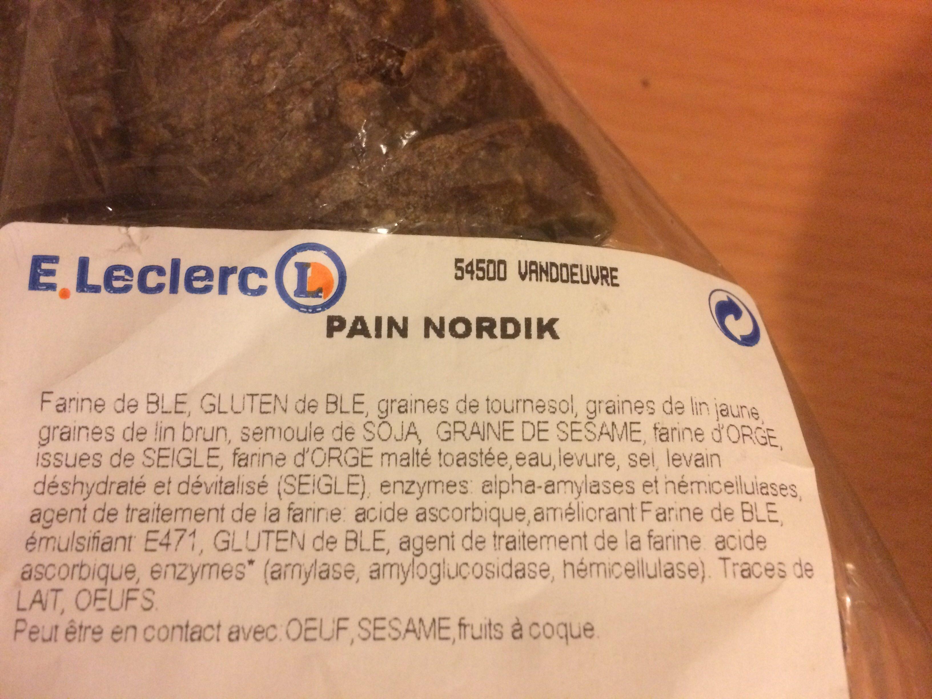 Pain - Ingredients