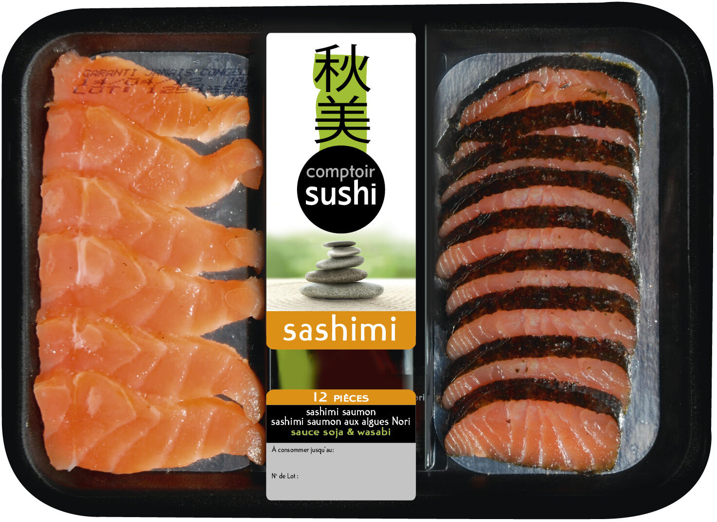 Sashimi de saumon - Produit - fr