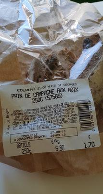 pain de campagne aux noix - Produit