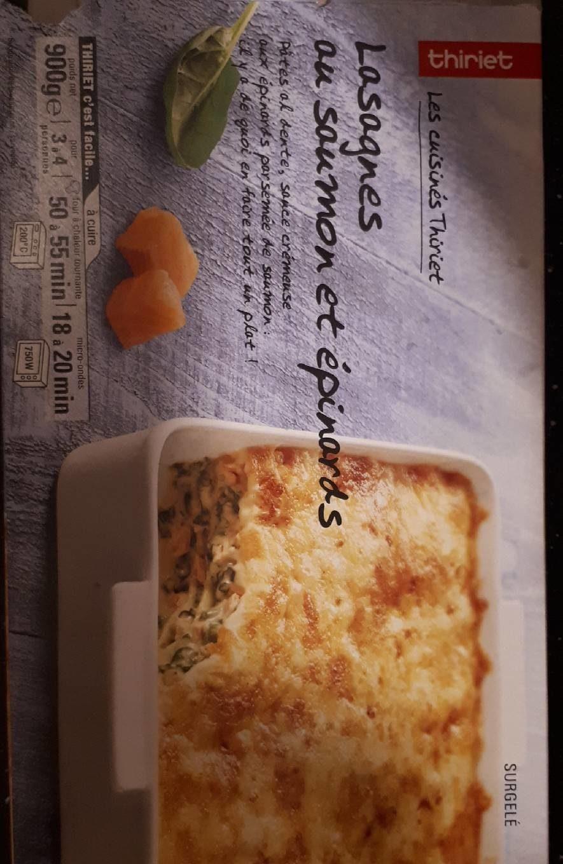 Lasagnes au saumon et épinards - Product - fr