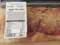 Fougasse tomates chorizo - Product