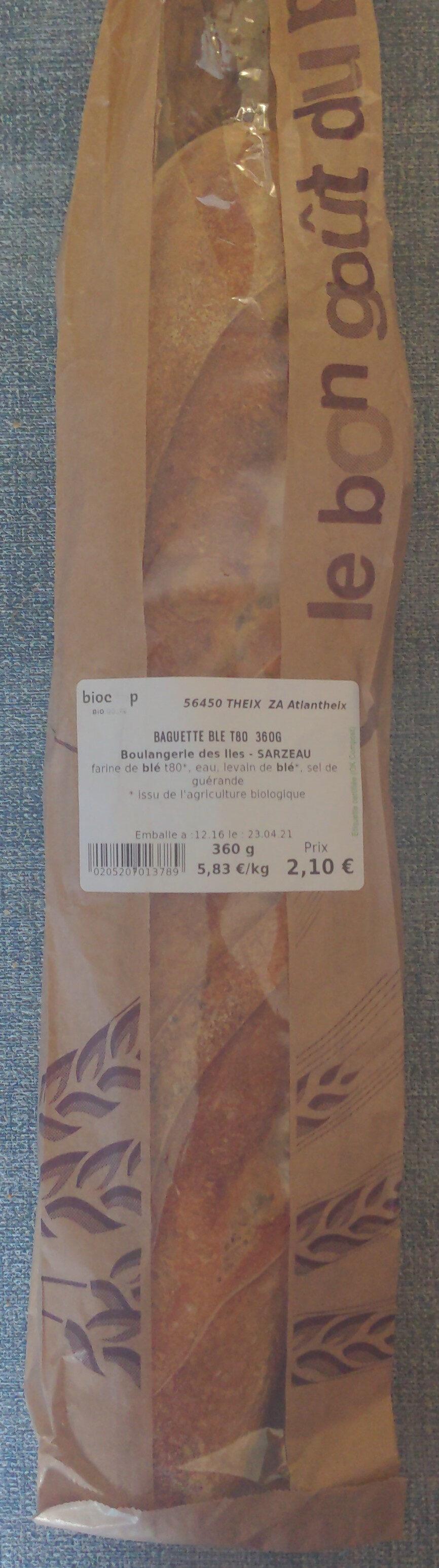 Baguette blé T80 - Prodotto - fr