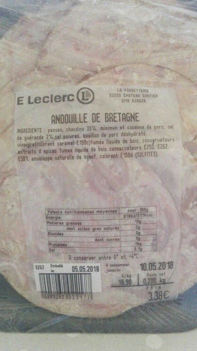 Andouille de bretagne - Prodotto - fr