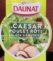 La Caesar poulet roti, salade et crudites - Produit - fr