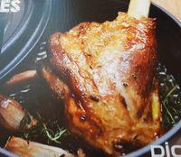 Souris d'agneau cuite dans son jus au thym - Product