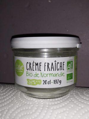 Crème fraîche bio de Normandie - Produit