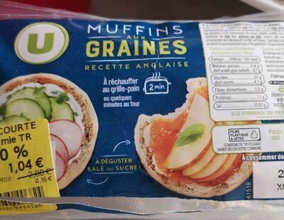 Muffins aux graines - Produit - fr