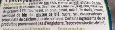 Muffins aux graines - Ingrédients - fr