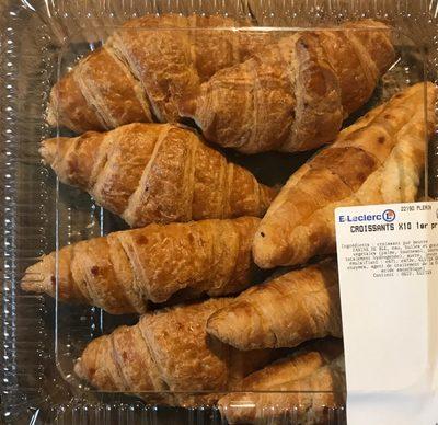 Croissants x 10 - Produit