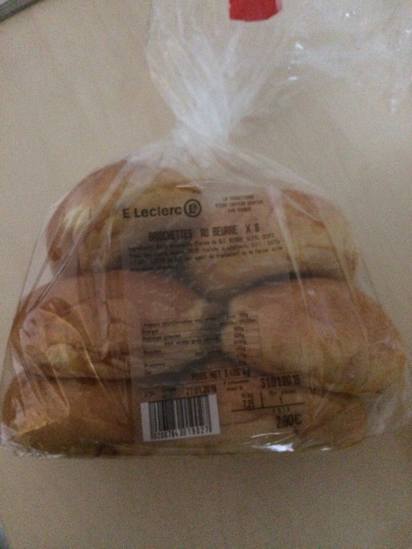 Briochettes au Beurre - Prodotto - fr