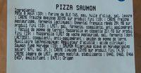 Pizza au saumon - Ingrédients
