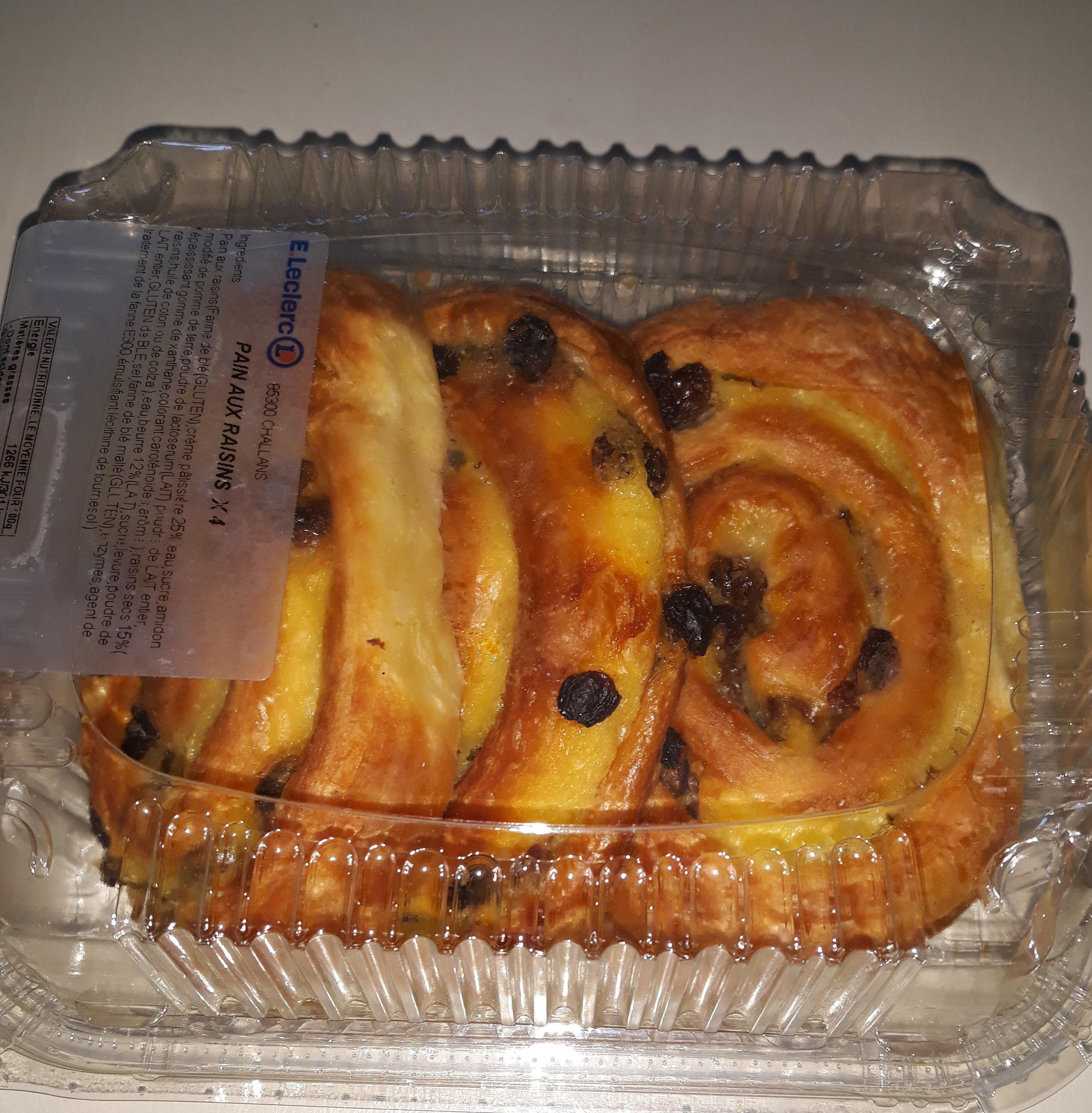 pain aux raisins - Produit - fr