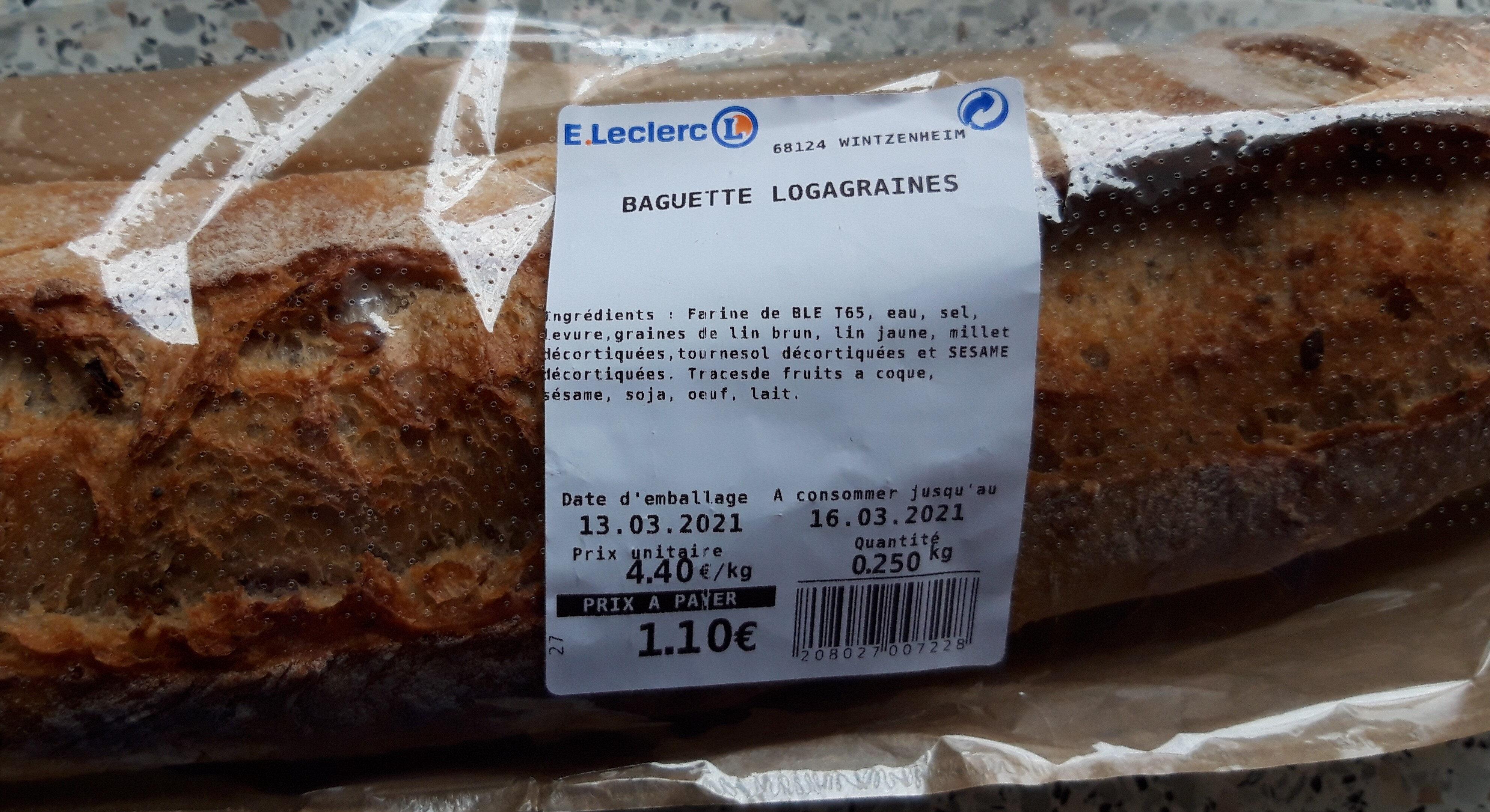 baguette logagraines - Prodotto - fr