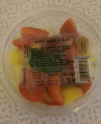 Petites salade de fruits - Product