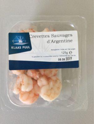 Crevettes sauvages d'Argentine - Produit - fr