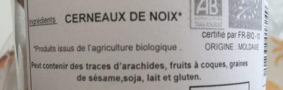 Cerneaux de noix Bio - Ingrediënten