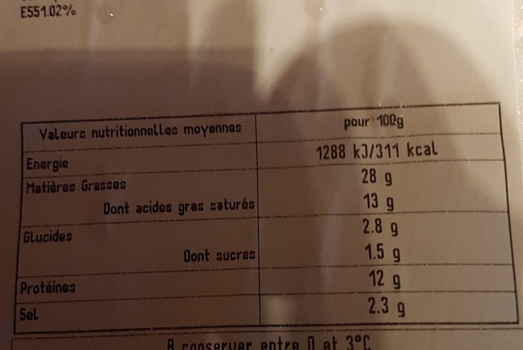 Merguez - Ingrediënten