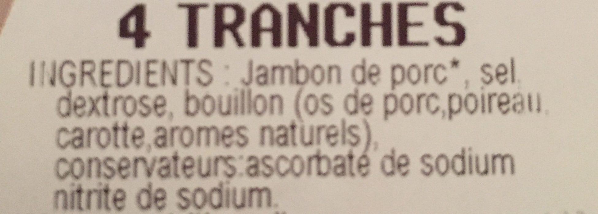 Le torchonay - Ingrédients - fr