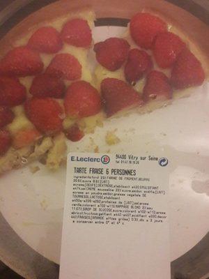 Tarte au fraise - Product