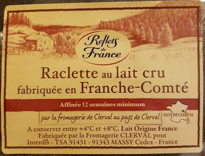 Raclette au lait cru fabriquée en Franche-Comté - Produit