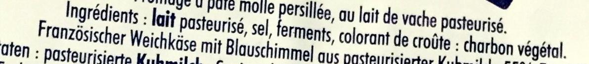 Le  Rochebaron - Ingrédients - fr