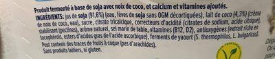 Alpro nature à la noix de coco - Ingredients