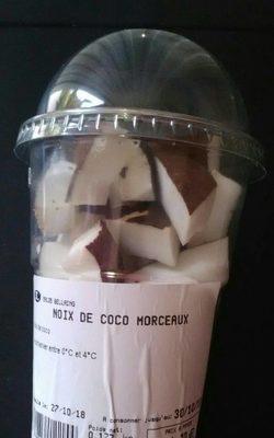 Noix de coco morceaux - Produit