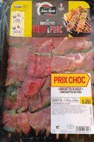 Brochette bœuf et porc - Product
