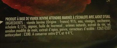 2 Pavés marinés - Ingrediënten