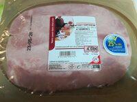 Jambon cuit supérieur - Product - fr