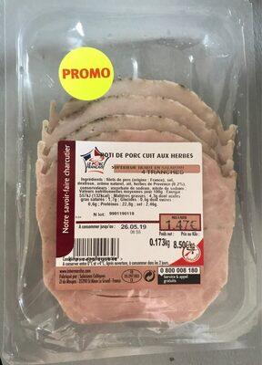 Rôti de Porc cuit aux herbes - Product - fr