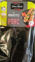 Les brochettes de porc - Product