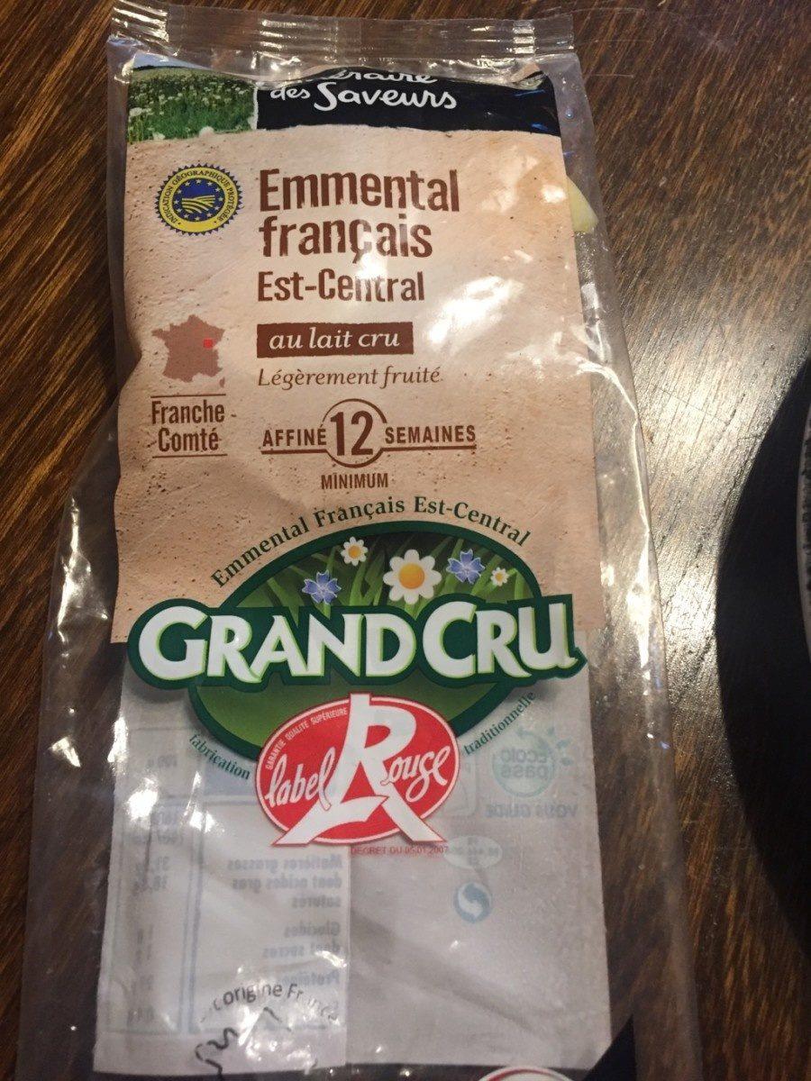 Emmental francais est-central Grand cru - Produit - fr