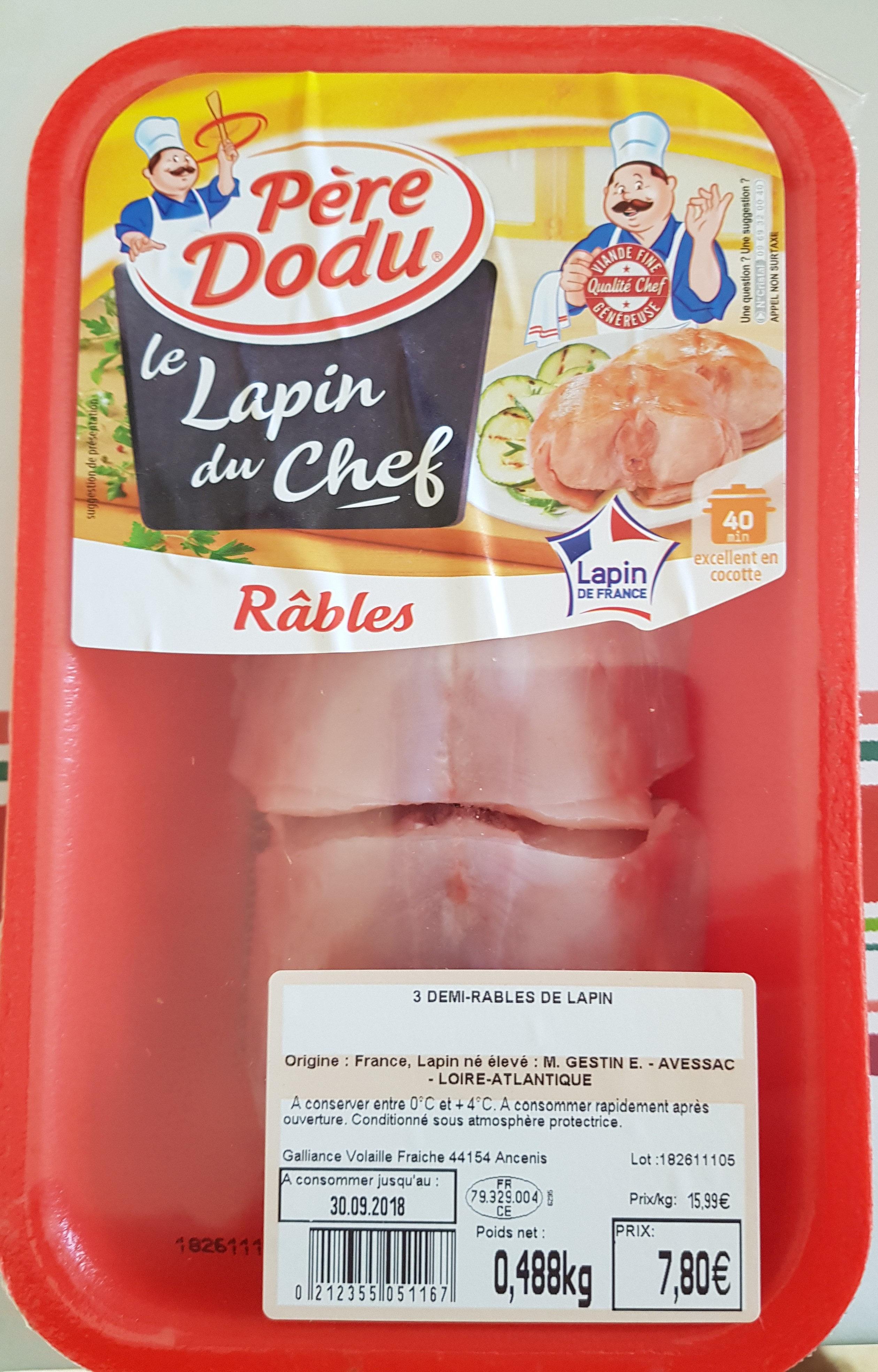 demi rables de lapin - Product - fr