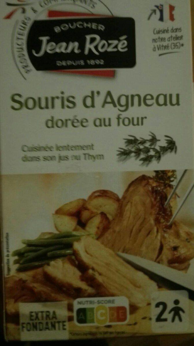 Souris d'agneau - Produit