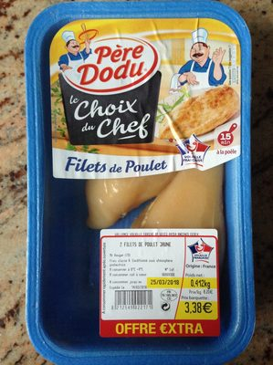 2 filets de poulet jaune - Product