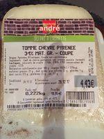 Tomme de chevre - Ingrédients - fr