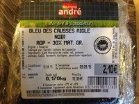 Bleu des Causses Aigle Noir AOP (30% MG) - Produit - fr