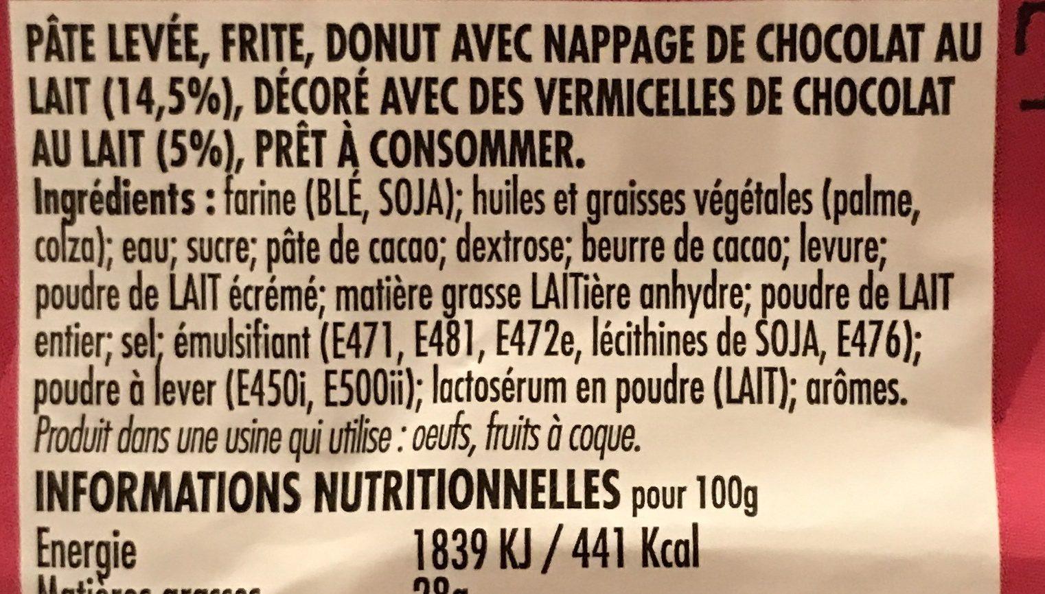 Dony's - Ingrédients - fr