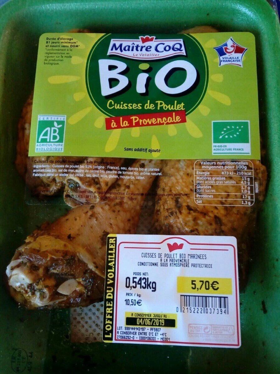 Cuisse de poulet à la provençale - Produit