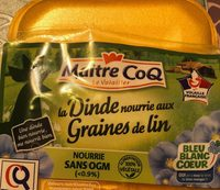 Dinde nourrie aux graines de lin - Product - fr