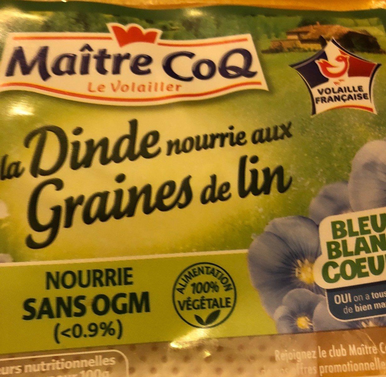 Dinde nourrie aux graines de lin - Ingrediënten - fr