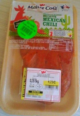 Aiguillettes dinde recette mexican Chili - Produit