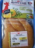Aiguillettes de poulet thym citron - Prodotto - fr