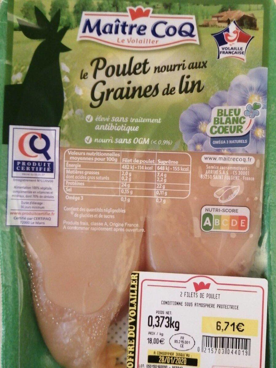 Poulet - Produit