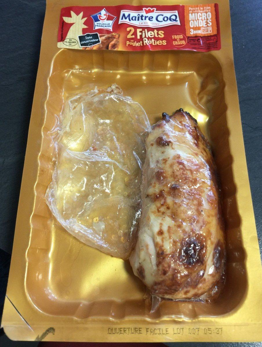 2 filets de poulet roties - Produit