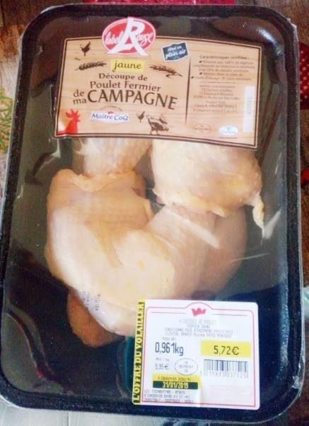 Jaune poulet fermier de ma Campagne - Product - fr