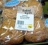 4 Medium Granary Baps - Produit